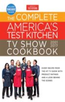 Complete America's Test Kitchen Tv Show Cookbook 2001-2017,The