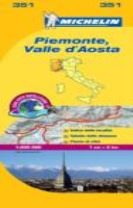 Piemonte & VA - Michelin Local Map 351