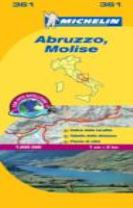 Abruzzo & Molise - Michelin Local Map 361