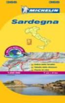 Sardinia - Michelin Local Map 366