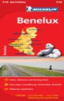 Benelux - Michelin National Map 714