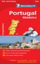 Portugal & Madeira - Michelin National Map 733