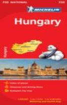 Hungary - Michelin National Map 732