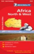 Africa North & West - Michelin National Map 741