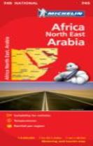 Africa North East, Arabia - Michelin National Map 745