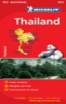 Thailand - Michelin National Map 751