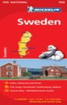 Sweden - Michelin National Map 753