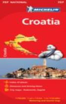 Croatia - Michelin National Map 757