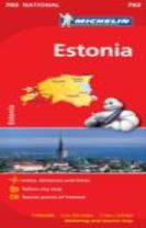 Estonia - Michelin National Map 782