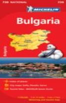 Bulgaria - Michelin National Map 739