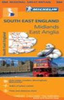 South East England - Michelin Regional Map 504