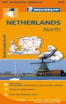 Netherlands North - Michelin Regional Map 531