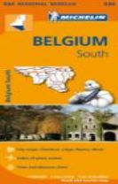 Belgium South - Michelin Regional Map 534