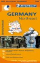 Germany Northeast - Michelin Regional Map 542