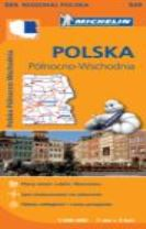 Poland North East - Michelin Regional Map 555