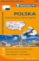 Poland South East - Michelin Regional Map 558