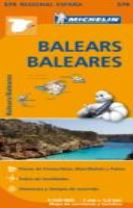 Baleares - Michelin Regional Map 579