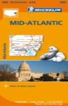 Midatlantic, Allegheny Highlands - Michelin Regional Map 582