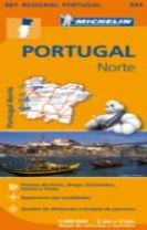 Portugal Norte - Michelin Regional Map 591