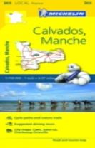Calvados, Manche - Michelin Local Map 303