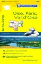 Oise, Paris, Val-d'Oise - Michelin Local Map 305