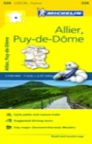 Allier, Puy-de-De - Michelin Local Map 326