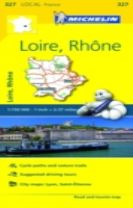 Loire, Rhone - Michelin Local Map 327