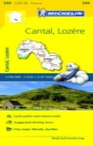 Cantal, Lozire - Michelin Local Map 330