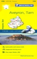 Aveyron, Tarn - Michelin Local Map 338