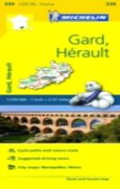 Gard, Herault - Michelin Local Map 339