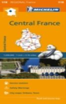 Centre - Michelin Regional Map 518