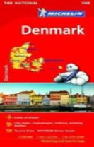 Denmark - Michelin National Map 749