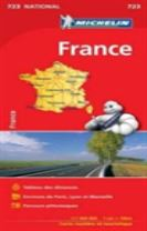 France (booklet format) - Michelin National Map 723