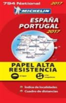 Espana & Portugal 2017 - High Resistance National Map 794