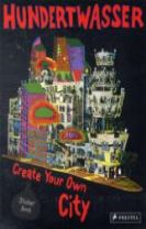 Hundertwasser Create You Own City Sticker Book