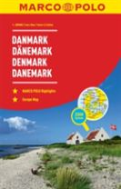 Denmark Marco Polo Road Atlas