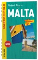 Malta Marco Polo Travel Guide - with pull out map