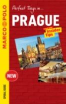 Prague Marco Polo Travel Guide - with pull out map
