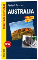 Australia Marco Polo Travel Guide - with pull out map