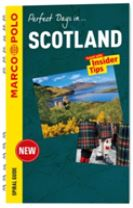 Scotland Marco Polo Travel Guide - with pull out map
