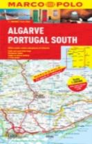 Algarve, Portugal South Marco Polo Map
