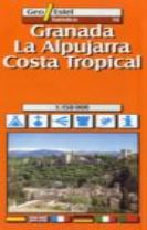 Granada, Alpujarras - Costa Tropical Tourist Map 1:150, 000