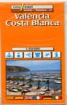 Valencia - Costa Blanca (Valencia / Alicante) Tourist Map 1:150, 000