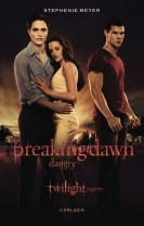 Twilight 4 - Breaking Dawn - Daggry (filmomslag), pb.