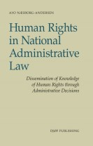 Human Rights in National Administrative Law