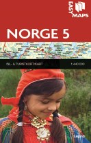 Easy Maps - Norge delkort 5