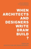 When Architects and Designers write draw build