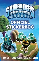 Skylanders Spyro's Adventure Officiel stickerbog
