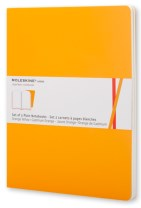 Moleskine Volant Extra Large Plain Orange Yellow & Cadmium Orange