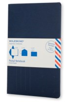 Moleskine Postal Notebook - Pocket Indigo Blue